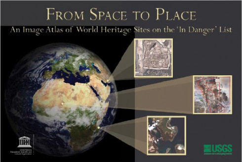 From space to place: an image atlas of world heritage sites on the 'in danger' list
