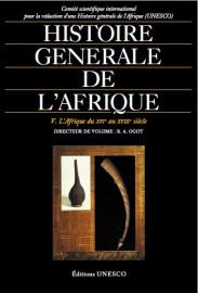 Histoire générale de l'Afrique, V: L'Afrique du XVIe au XVIIIe siècle