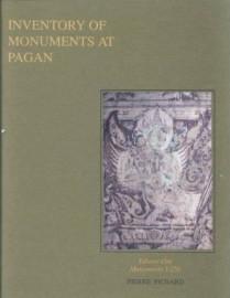 Inventory of Monuments at Pagan Vol. 1