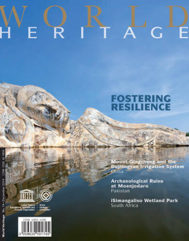 World Heritage Review 74: World Heritage: Fostering resilience